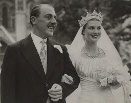 Weetman John Churchill Pearson, 3rd Viscount Cowdray; Anne Pamela (née Bridgeman), Viscountess Cowdray, by Unknown photographer - NPG x76570