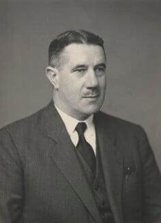 Sir Alec Seath Kirkbride, by Walter Stoneman - NPG x76580