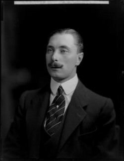 Alexander Albert Mountbatten, 1st Marquess of Carisbrooke, by H. Walter Barnett - NPG x76599
