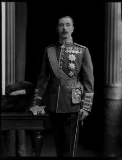 Alexander Albert Mountbatten, 1st Marquess of Carisbrooke, by H. Walter Barnett - NPG x76600