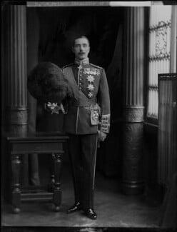 Alexander Albert Mountbatten, 1st Marquess of Carisbrooke, by H. Walter Barnett - NPG x76601