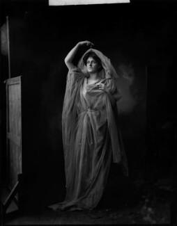 Lady Ethel Maud Warrender (née Ashley-Cooper), by H. Walter Barnett - NPG x76614