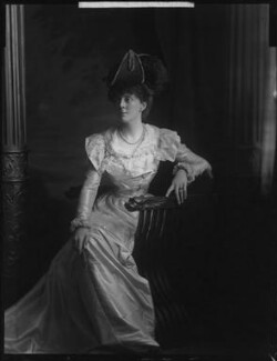 Lady Sarah Isabella Augusta Wilson (née Spencer-Churchill), by Henry Walter ('H. Walter') Barnett,  - NPG x76622 - © National Portrait Gallery, London