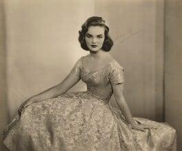 Henrietta Joan (née Tiarks), Duchess of Bedford, by Dorothy Wilding, 1957 - NPG x34865 - © William Hustler and Georgina Hustler / National Portrait Gallery, London