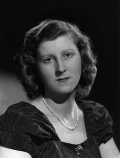 Isabel Cynthia (née Monckton), Lady King of Wartnaby, by Bassano Ltd - NPG x77211