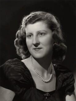 Isabel Cynthia (née Monckton), Lady King of Wartnaby, by Bassano Ltd - NPG x77212