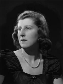 Isabel Cynthia (née Monckton), Lady King of Wartnaby, by Bassano Ltd - NPG x77213