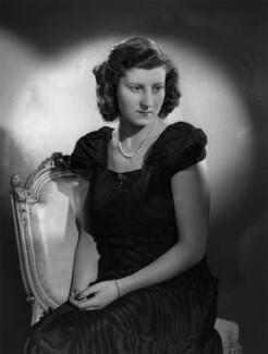 Isabel Cynthia (née Monckton), Lady King of Wartnaby, by Bassano Ltd - NPG x77214