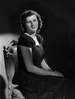Isabel Cynthia (née Monckton), Lady King of Wartnaby, by Bassano Ltd - NPG x77215