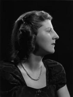 Isabel Cynthia (née Monckton), Lady King of Wartnaby, by Bassano Ltd - NPG x77216