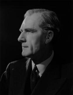 Thomas Dunlop Galbraith, 1st Baron Strathclyde, by Bassano Ltd - NPG x77280
