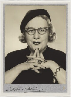 Dorothy Wilding, by Dorothy Wilding, 1950s - NPG  - © William Hustler and Georgina Hustler / National Portrait Gallery, London