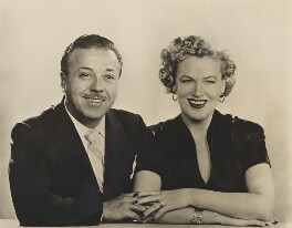 Monty Banks; Dame Gracie Fields, by Dorothy Wilding - NPG x27491