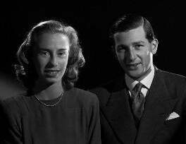Christine Edith (née Cooper), Lady Garvagh; Alexander Leopold Ivor George Canning, 5th Baron Garvagh, by Bassano Ltd - NPG x77727