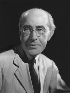 Sir Ernest John Pickstone Benn, 2nd Bt, by Bassano Ltd - NPG x77824