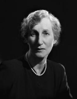 (Helen) Violet Bonham Carter (née Asquith), Baroness Asquith of Yarnbury, by Bassano Ltd - NPG x77921