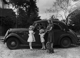 6th Earl of Gosford and family, by Bassano Ltd, 23 September 1946 - NPG x78083 - © National Portrait Gallery, London