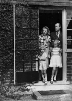 6th Earl of Gosford and family, by Bassano Ltd, 23 September 1946 - NPG x78087 - © National Portrait Gallery, London