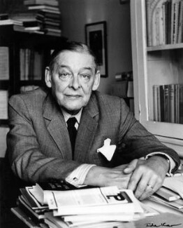T.S. Eliot, by Ida Kar - NPG x13783