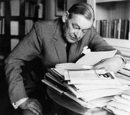 T.S. Eliot, by Ida Kar - NPG x13784
