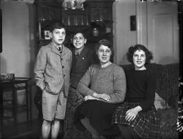 The Proctor-Beauchamp family, by Bassano Ltd - NPG x78283