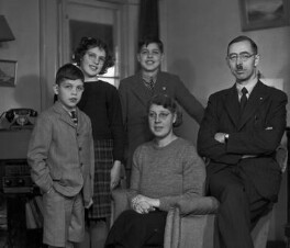The Proctor-Beauchamp family, by Bassano Ltd - NPG x78284