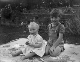 Elizabeth Mary Rice-Nicholl (née Innes); James Richard Innes, by Bassano Ltd - NPG x78351