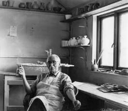 Bernard Howell Leach, by Ida Kar - NPG x13788
