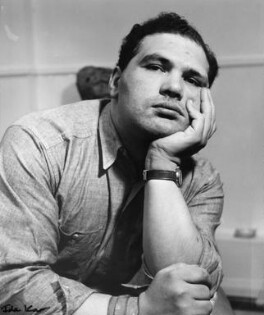 Sir Eduardo Paolozzi, by Ida Kar, 12 November 1958 - NPG  - © National Portrait Gallery, London
