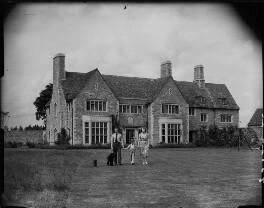Sir James Heron Walker, 5th Bt; Sir Victor Stewart Heron Walker, 6th Bt; Angela Margaret (née Beaufort), Lady Walker, by Bassano Ltd - NPG x78400