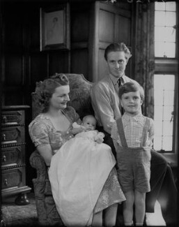 Sir James Heron Walker, 5th Bt with his family, by Bassano Ltd - NPG x78402
