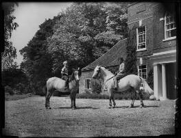 Paul Betjeman; Penelope (née Chetwode), Lady Betjeman, by Bassano Ltd - NPG x78427