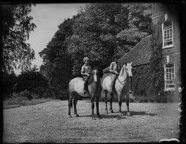 Paul Betjeman; Penelope (née Chetwode), Lady Betjeman, by Bassano Ltd - NPG x78428
