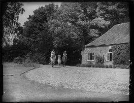 Candida Lycett Green; Penelope (née Chetwode), Lady Betjeman; Paul Betjeman, by Bassano Ltd - NPG x78429