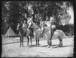 Candida Lycett Green; Paul Betjeman; Penelope (née Chetwode), Lady Betjeman, by Bassano Ltd - NPG x78431