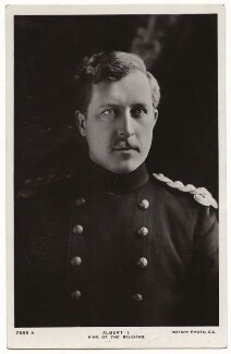 King Albert I of Belgium, by Keturah Ann Collings, published by  Rotary Photographic Co Ltd - NPG x7885