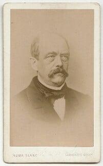Prince Otto Edward Leopold von Bismarck-Schonhausen, by Numa Blanc - NPG x7897