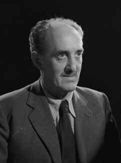 Sir Richard George Lewis, by Bassano Ltd - NPG x79209