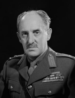 Sir Richard George Lewis, by Bassano Ltd - NPG x79211