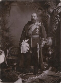 King Edward VII, by Lafayette - NPG x7935