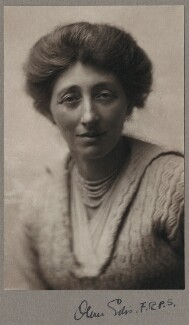 Olive Edis, by (Mary) Olive Edis (Mrs Galsworthy), 1910s - NPG x7959 - © National Portrait Gallery, London
