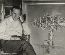 Graham Sutherland, by Ida Kar, 1954 - NPG  - © National Portrait Gallery, London