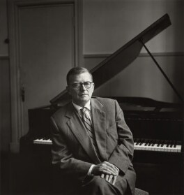 Dmitri Shostakovich, by Ida Kar, 1959 - NPG  - © National Portrait Gallery, London