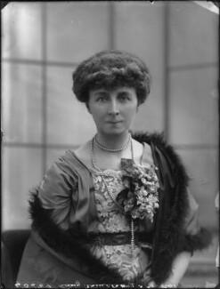 Winifreda Jane Watson-Armstrong (née Adye), Baroness Armstrong, by Bassano Ltd, 22 February 1911 - NPG x79813 - © National Portrait Gallery, London