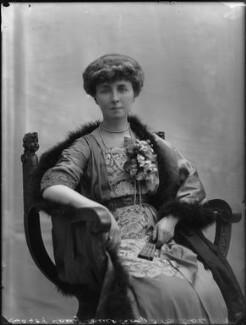 Winifreda Jane Watson-Armstrong (née Adye), Baroness Armstrong, by Bassano Ltd - NPG x79814