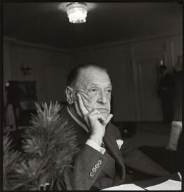 Somerset Maugham, by Ida Kar - NPG x31640