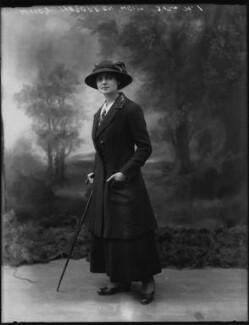 Mrs Louis Oppenheimer, by Bassano Ltd - NPG x79847