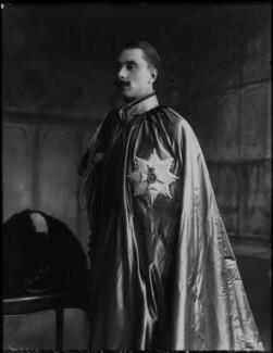 Alexander Albert Mountbatten, 1st Marquess of Carisbrooke, by Bassano Ltd - NPG x79906
