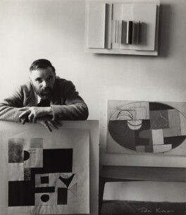 Victor Pasmore, by Ida Kar, 1954 - NPG  - © National Portrait Gallery, London