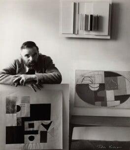 Victor Pasmore, by Ida Kar, 1954 - NPG x31648 - © National Portrait Gallery, London